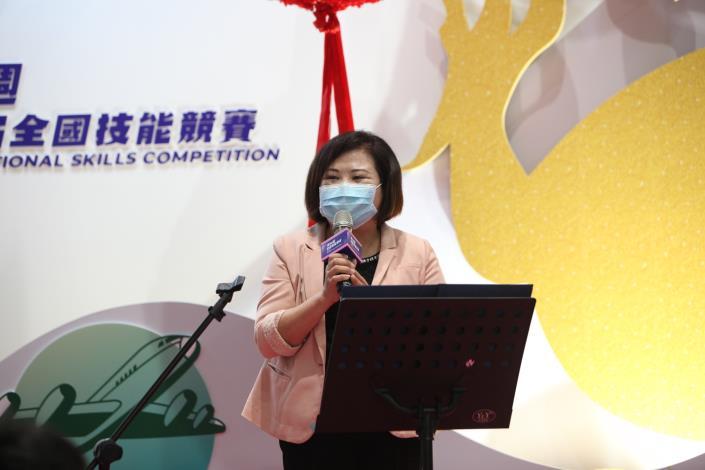 1090918勞動部勞動力發展署新聞稿(附照1)_勞動部部長許銘春主題館開幕致詞。