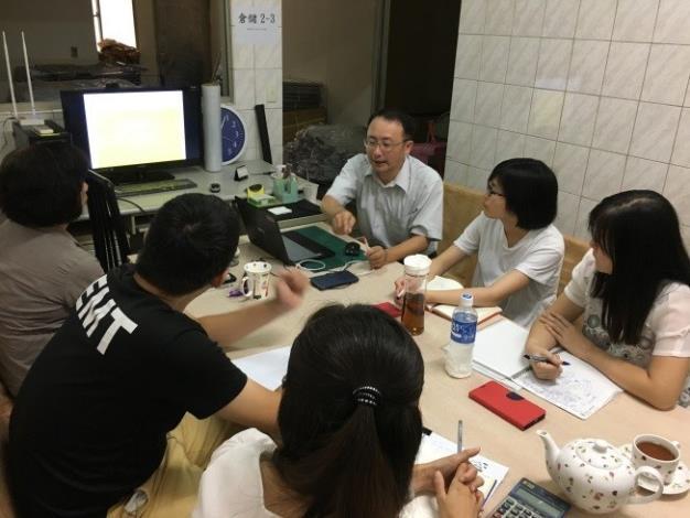 1080103勞動部勞動力發展署新聞稿(附照1)_寶銳企業「物料清單設計」課程參訓情形。
