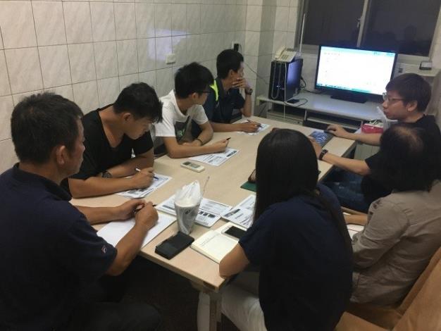 1080103勞動部勞動力發展署新聞稿(附照3)_寶銳企業「機水電工程執行及作業」課程參訓情形。