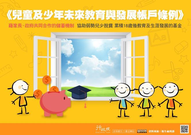 《兒童及少年未來教育與發展帳戶條例》