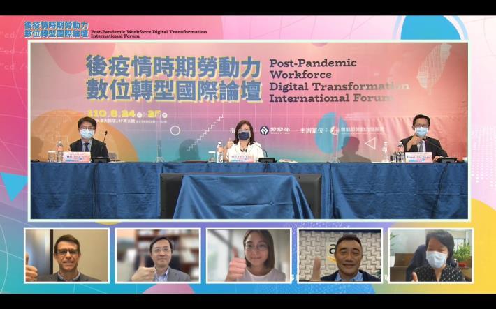 Post-Pandemic Workforce Digital Transformation International Forum Group Photo