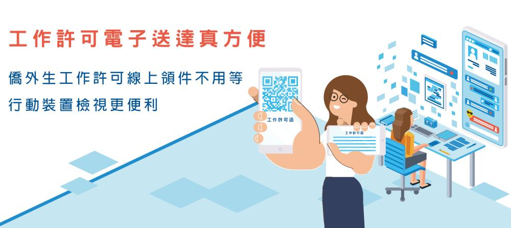 Electronic Service of Work Permit