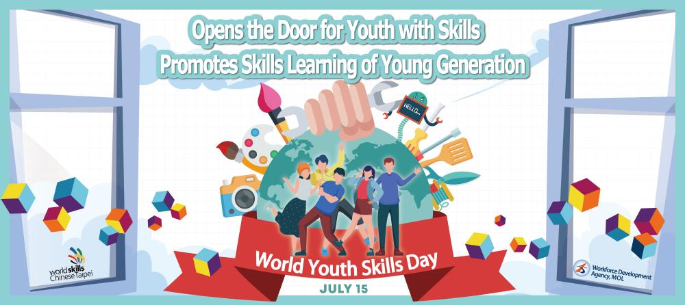 July,15 is  World Youth Skills Day.