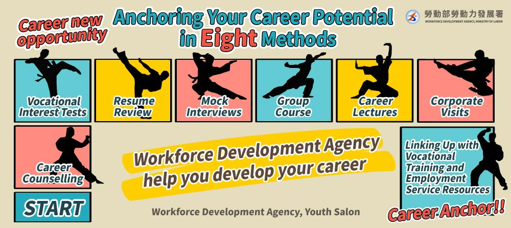 Youth Salon (Young People's Career Development Center) assisting youth in planning for careers