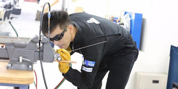 the 43th WorldSkills Competiton_Refrigeration and Air Conditioning