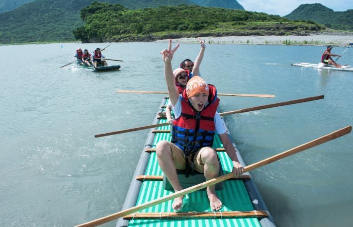 花蓮豐濱靜浦社區發展協會推出限定遊程泛舟體驗