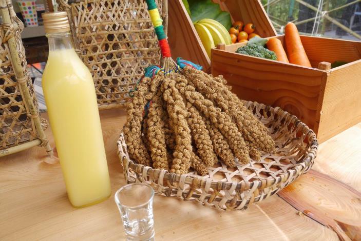 宜蘭縣愛南澳生態旅遊發展協會推出的原民特產小米酒