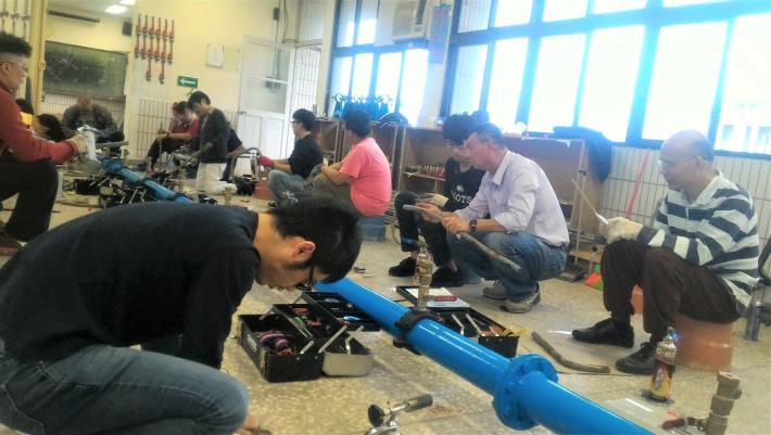 宜蘭職業訓練場水電班實務訓練