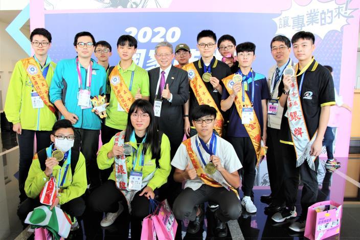 全國第50屆技能競賽北分署獲得18面獎牌佳績