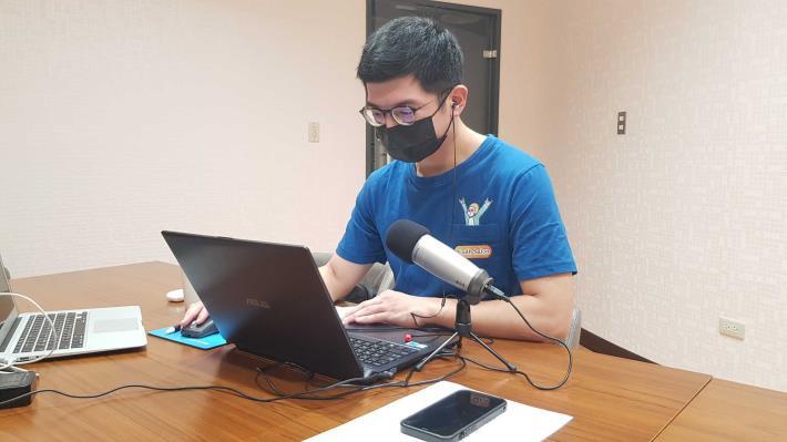 2021-07-16 YS舉辦線上工作坊,助青年在家防疫也能持續了解產業新知。