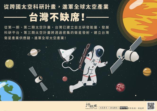 從太空科研計畫,進軍全球太空產業