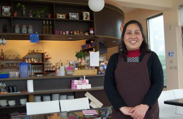 在勞動部微型創業鳳凰計畫輔導下,南庄「向天湖咖啡民宿」的業者更堅定信心,築夢踏實。.JPG