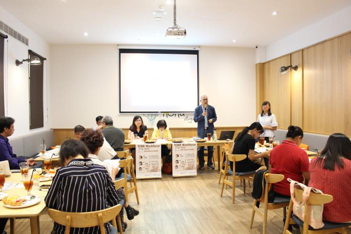 中彰投區勞動力發展策略聯盟 諮詢委員 梁亞文教授主持會議
