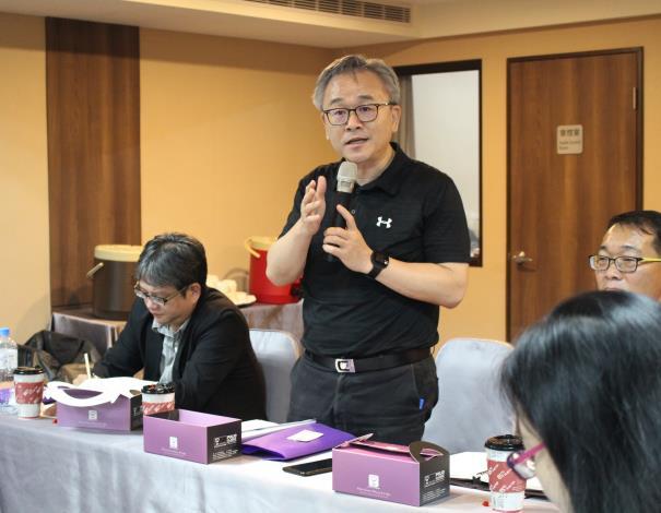 台中科技大學陳同孝副校長主持會議