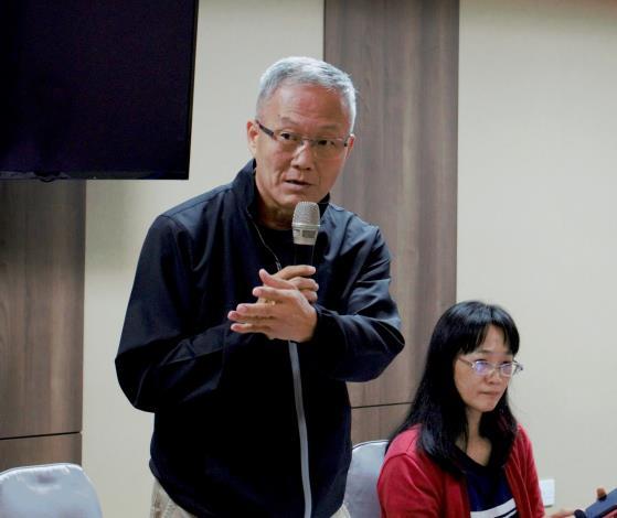立成教育文化有限公司洪仲賢處長經驗分享