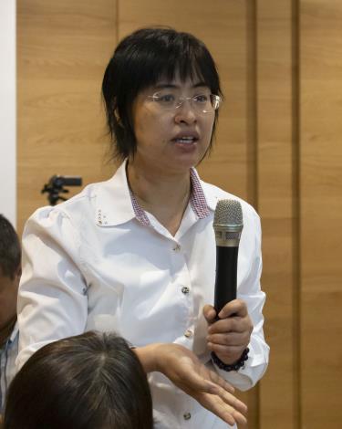 經濟部加工出口區管理處楊秀宜課長經驗分享