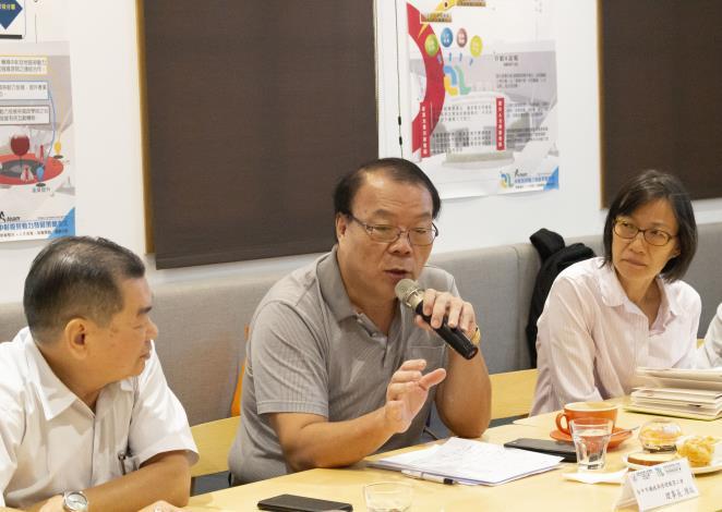 台中市機踏車修理職業工會陳瑞理事長經驗分享
