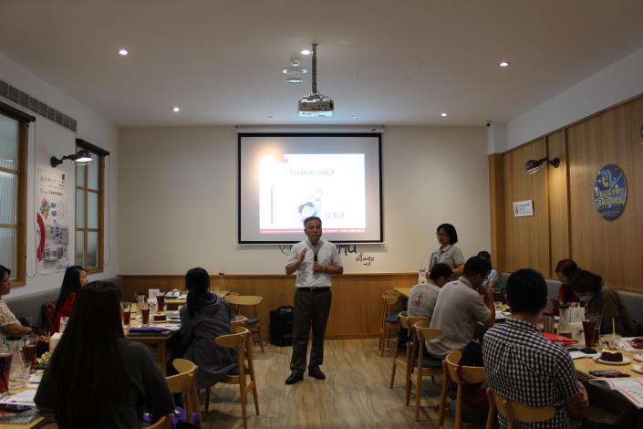 勞動力發展策略聯盟協同主持人趙裕彬博士主持會議