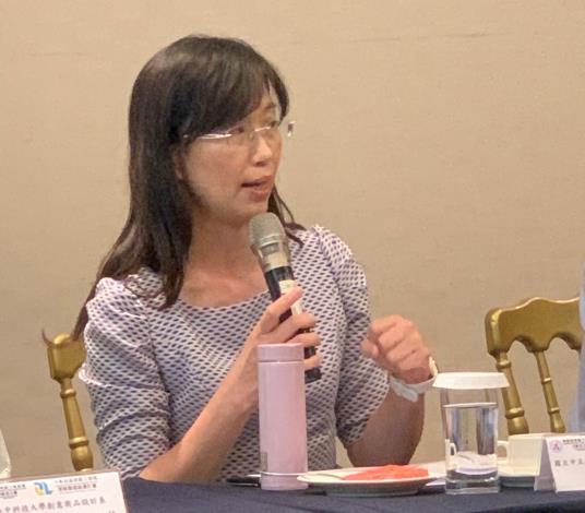 國立中正大學成人及繼續教育學系李藹慈 教授經驗分享