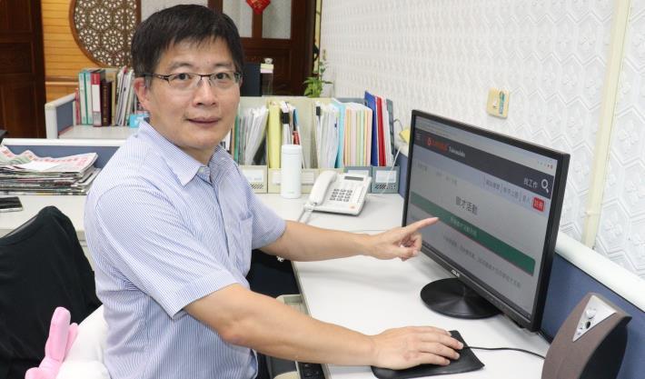 雲嘉南分署長劉邦棟提醒求職者可先上台灣就業通網站了解職缺.JPG