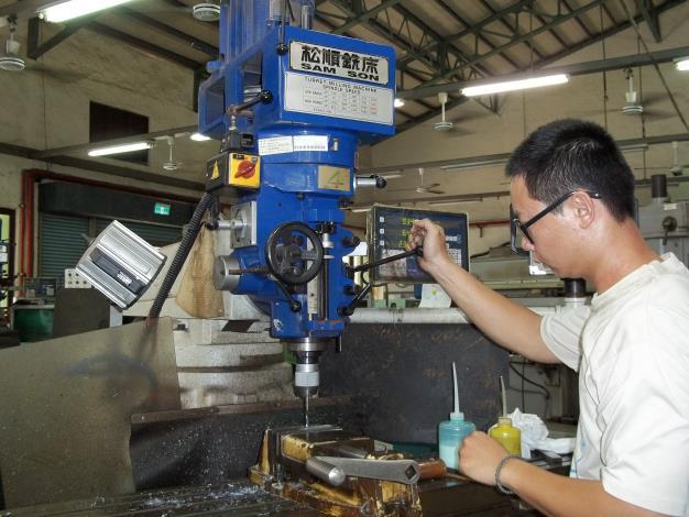 傳統銑床操作