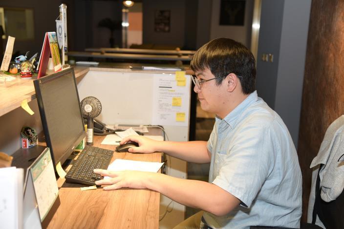 對於獲得這份工作孫宜很開心,因為不只自身日本求學背景能充分發揮,勞動部國貿職訓課程,讓他有更多元更寬廣的職涯選擇。.JPG