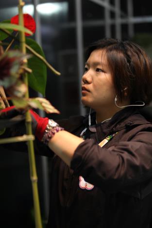 43屆-花藝柳皓雲43rd WorldSkills CompetitionSkill 28- Floristry