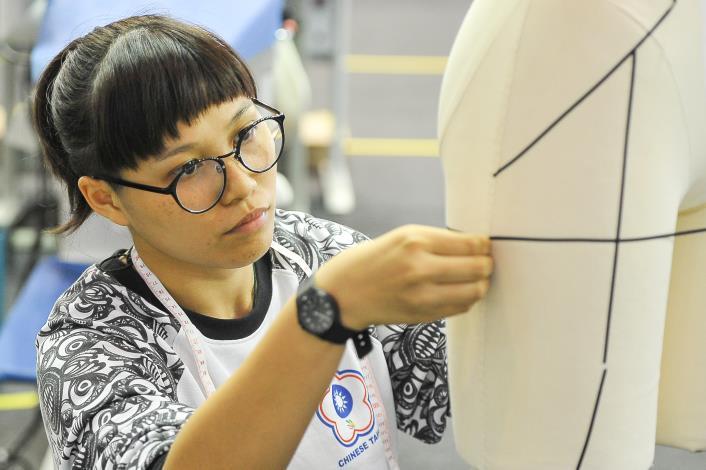 43屆-服裝創作陳詩婷43 WorldSkills CompetitionSkill 31 Fashion Technology
