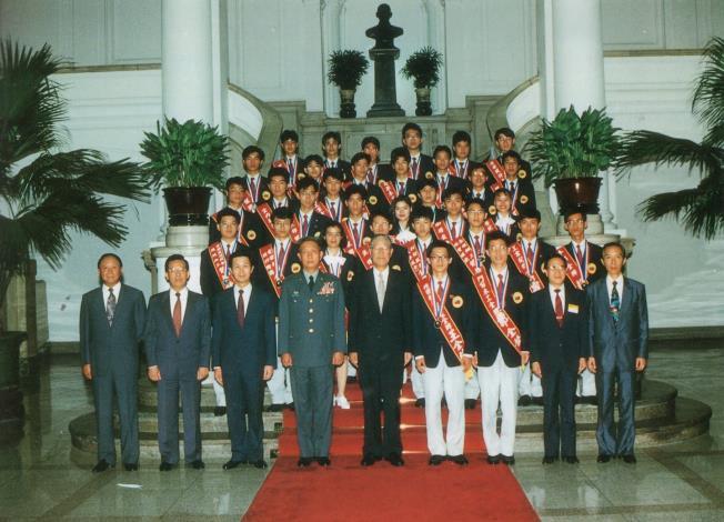 李總統接見我國參賽選手