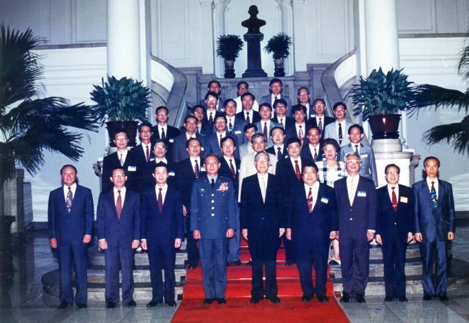 李總統接見我國際裁判團