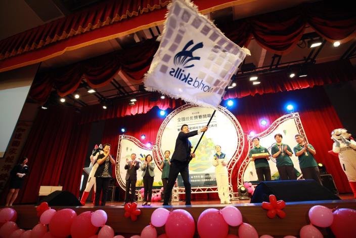開幕暨會旗傳遞典禮共2張